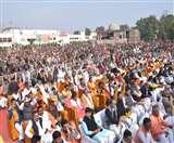CAA पर भाजपा की रैली : नागरिकों का जोश बता रहा था सीएए का फायदा Gorakhpur News