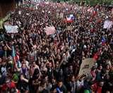 चिली में सैन्य तानाशाही के खिलाफ विरोध प्रदर्शन, लोकतंत्र की खातिर सड़क पर निकले लोग