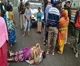खरखरी में दो गुटों के बीच मारपीट और गोलीचालन, थाना का घेराव कर विरोध कर रहीं महिलाएं Dhanbad News