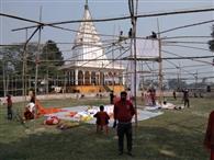 महाशिवरात्रि उत्सव में महाप्रसाद बनाने के लिए बंगाल से आए 300 कारीगर