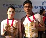 Aerobic world championship में टीम इंडिया का हिस्सा बनेंगी तानिया और सुमित Chandigarh News
