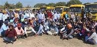 प्रशासन की सख्ती के बाद स्कूल बस एसोसिएशन ने किया विरोध