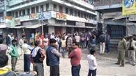 कुख्यात इंदल महतो की हत्या से दहशत, स्वत: स्र्फूत बंद रहा सोनबरसा बाजार