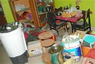 7 दरवाजों में लगे 10 ताले तोड़ चुराया 2 लाख का सामान