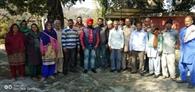 कृषि विभाग की टीम ने किसानों को किया जागरूक
