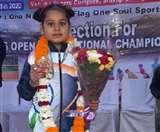 छोटी उम्र में लवलीन थापर के बढ़ते कदम, अब तक जीत चुकी है कई स्वर्ण पदक Jalandhar News