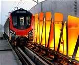 लखनऊ मेट्रो के ईस्ट वेस्ट व नार्थ साउथ कॉरिडोर प्रोजेक्ट को लगा बजट का झटका