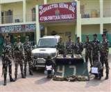 पश्चिम चंपारण के सिकटा बस स्टैंड से 50 किलो चरस के साथ दो तस्कर गिरफ्तार