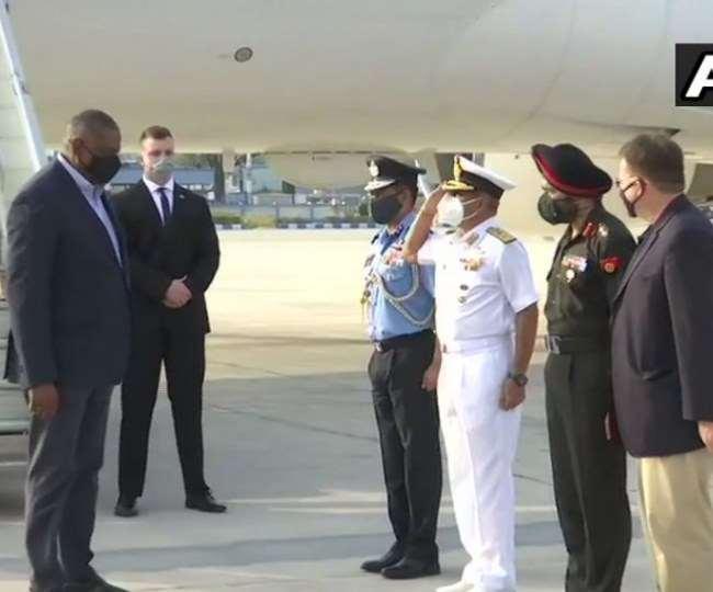 अमेरिकी रक्षा मंत्री लॉयड ऑस्टिन शुक्रवार को तीन दिनों के भारत दौरे पर पहुंचे।