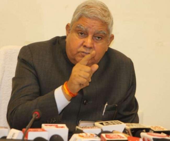 पश्चिम बंगाल राज्यपाल जगदीप धनखड़ राजभवन की सुरक्षा में कोताही
