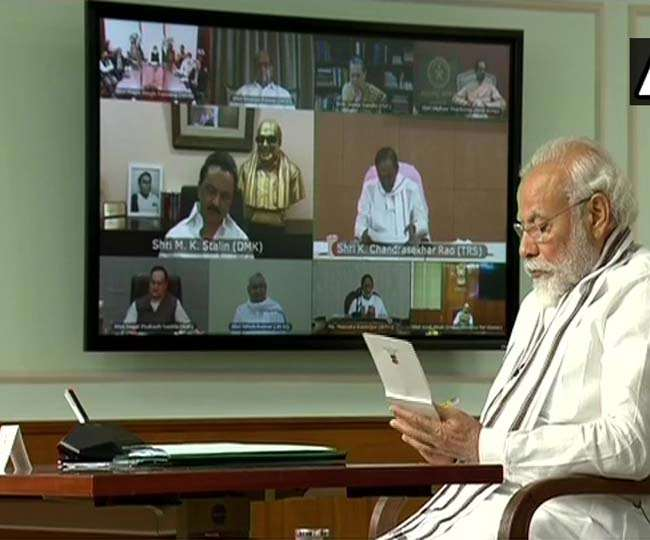 Important things of all party meeting with PM Modi know who said what