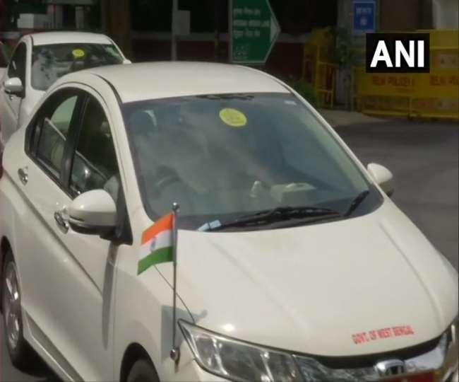 West Bengal Governor Jagdeep Dhankhar arrives to meet Amit Shah