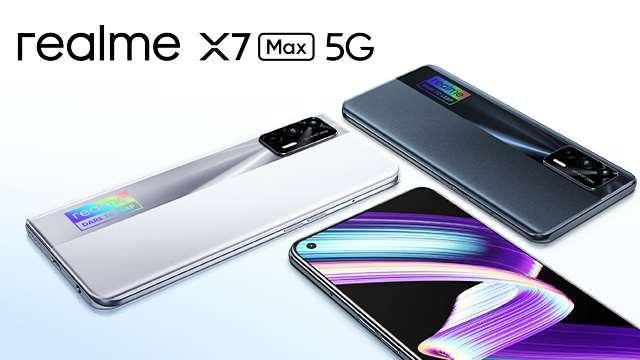 Realme X7 Max 5G स्मार्टफोन की फोटो दैनिक जागरण की है