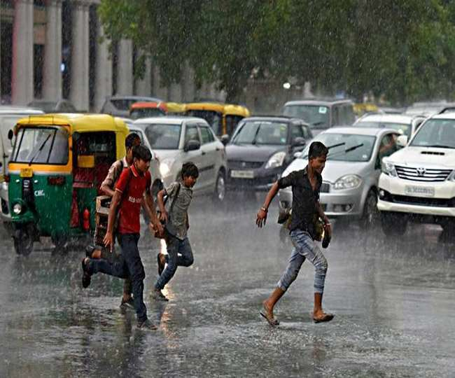 देश के कई राज्यों में झमाझम बारिश मौसम विभाग ने जारी किया अलर्ट