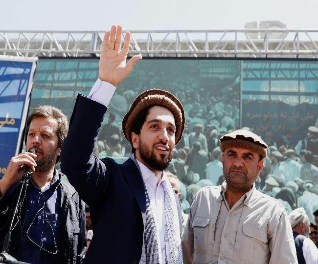 पूर्व मुजाहिदीन कमांडर के 32 वर्षीय बेटे अहमद मसूद