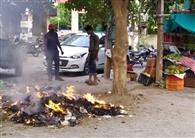 नूर निवास स्कूल सहित एक व्यक्ति को खुले में कचरा जलाने पर 5-5 हजार का जुर्माना