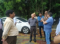 जीरो डिस्चार्ज को लेकर एनजीटी की टीम ने देखे सीईटीपी