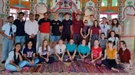 भारतीय संस्कृति को जानने पहुंचे जर्मनी के 16 विद्यार्थी
