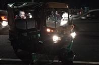 सड़क क्रॉस कर रहे 90 वर्षीय बुजुर्ग को ट्रक ने कुचला
