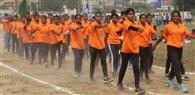 मंडलीय खेल प्रतियोगिता में बालक-बालिकाओं ने भरा दम