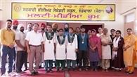किक बाक्सिग में झंडेवाला स्कूल ने जीते गोल्ड मैडल