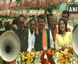 Maharashtra Elections 2019: सीएम फडणवीस का नागपुर में रोड शो, चुनाव प्रचार का आज अंतिम दिन
