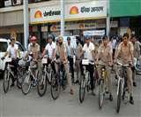 जागरण की साइकिल रैली में जुटे सैकड़ों Cyclist, पांच रामलीलाओं के रावण रहे आकर्षण का केंद्र Chandigarh News