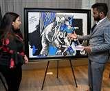 MF Husain की एक करोड़ की पेंटिंग का करना है दीदार तो चले आएं लुधियाना, दो दिन तक लगेगी प्रदर्शनी