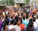 pinky murder case kashipur काशीपुर में पिंकी की हत्या से उबाल, रामनगर रोड पर लगाया जाम