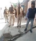 किसान की हत्या के बाद बड़ावद में पुलिस तैनात