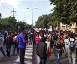 JNU Students Protest Day 2: प्रदर्शन को लेकर दिल्ली पुलिस ने दर्ज की FIR