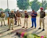 मराडो इलाके में तेजधार हथियारों से हत्या, ठेके के पीछे सड़क पर फेंका शव Ludhiana News