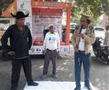कलेक्ट्रेट परिसर में नुकड़ नाटक के माध्यम से रोड सेफ्टी का दिया संदेश Meerut News