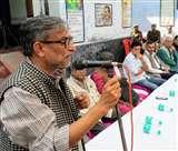 बलिया में 87वीं जयंती पर पैतृक गांव चकिया में याद किए गए वरिष्ठ साहित्यकार डा. केदारनाथ सिंह