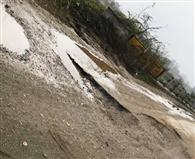 कुंजपुरा रोड के निर्माण कार्य की धीमी चाल