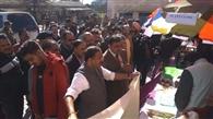 दो मंत्रियों ने सुनीं जनता की फरियाद, खोला आश्वासनों का पिटारा