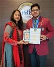 विद्यार्थी विज्ञान मंथन म गीतांश ने पाया पहला स्थान