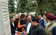 मुजफ्फरनगर में शहीदों को नमन कर दी श्रद्धांजलि