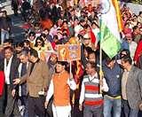 Citizenship Amendment Act: भाजपाइयों ने रैली निकालकर दी सीएए की जानकारी