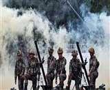 पाकिस्तानी रेंजरों ने गांवों को निशाना बना की गोलाबारी, मोर्टार दागे