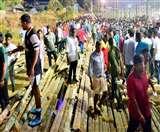 केरल में चैरिटी फुटबॉल मैच के दौरान स्टेडियम की गैलरी गिरी, 50 लोग घायल ; भाईचुंग भूटिया भी थे मौजूद