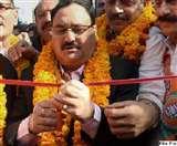 जेपी नड्डा को राष्ट्रीय अध्यक्ष बनाने के समर्थन में चंडीगढ़ भाजपा ने सौंपा नामांकन पत्र