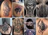 अब काला नहीं कलरफुल हो गया है tattoo, हजारों के खर्च में बन रहा पोट्रेट