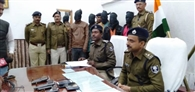 अंतरजिला गिरोह के पकड़ाए बदमाशों को खोज रही थी छह जिला की पुलिस
