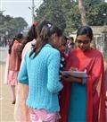 अंदर चल रही परीक्षा, केंद्रों के बाहर बन रहे थे चिट-पुर्जा, प्रशासन ने पल्ला झाड़ा