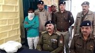 3.57 किग्रा चरस के साथ दो गिरफ्तार