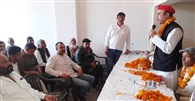 सपा कार्यकर्ताओं को दिया 2022 के चुनाव की तैयारियों का ज्ञान