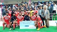 पंजाब पुलिस जालंधर ने फुटबाल अकादमी मोहाली को 2-1 से हराया