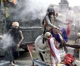 MahaShivaratri 2020: एक बरात ऐसी भी, तस्वीरों में देखिए भूत प्रेत और श्मशान की राख से सजे धजे बराती