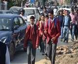 कार्मिकों की विशाल रैली ने थामी राजपुर रोड की रफ्तार Dehradun News
